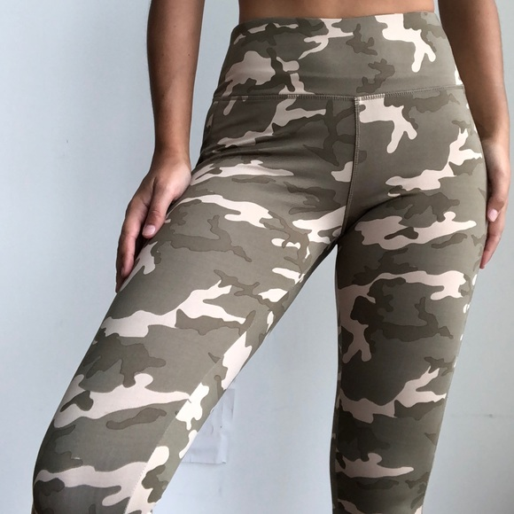 f1fcddf0435052 Cotton On Pants | Camo High Waist Army Sport Leggings M | Poshmark